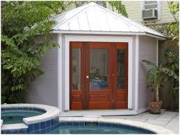backyards enchanting outdoor cabanas designs close up view of
