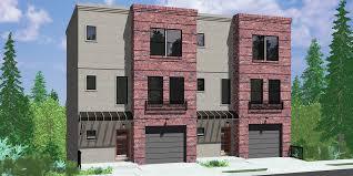 narrow lot home designs modern house plans narrow plan lot with garage floor luxury cottage