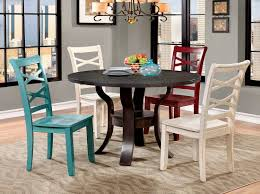 merlot finish transitional dining room table w optional items heds
