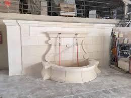 fontaine en pierre naturelle fontaine murale sur mesure en pierre d u0027estaillades réalisations