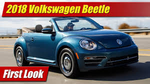 volkswagen sedan 2018 what u0027s new 2018 volkswagen beetle testdriven tv