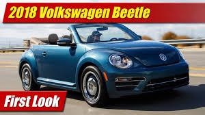 volkswagen beetle 2017 blue what u0027s new 2018 volkswagen beetle testdriven tv