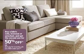 Sofa Canada Canadian Deal Ikea Canada Sofa Event Buy 1 Get 1 50 Off