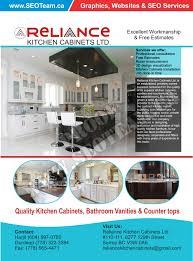 reliance kitchen cabinets ltd design by seoteam ca seo u0026 web