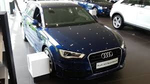 audi a3 scuba blue audi a3 sportback s line 2015 in depth review interior exterior