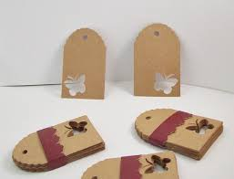 Birthday Wish Tree Aliexpress Com Buy Butterfly Kraft Favor Tags Rustic Wedding
