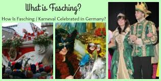 what is fasching how is it celebrated in germany
