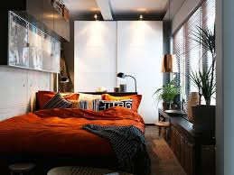 small organizing bedroom without closet for small bedroom using
