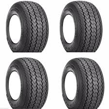 golf cart tires set of 4 18x8 50 8 kenda hole n one stock height