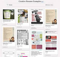 examples of creative resumes pinterest resumes a way to pin down jobs sfgate screenshot of flexjob s board on pinterest of intersting job resumes they ve found photo