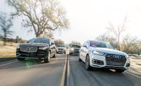 2017 audi q7 3 0t vs 2015 bmw x5 xdrive35i 2015 land rover range