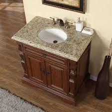 Bathroom Vanity Counters Accord 36 Inch Single Sink Bathroom Vanity Venetian Granite Top
