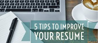 Improve Resume 5 Tips To Improve Your Resume Same Day Translations