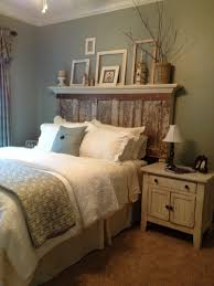 Headboard For King Size Bed Bedroom Rustic King Size Master Bedroom Design With Unusual