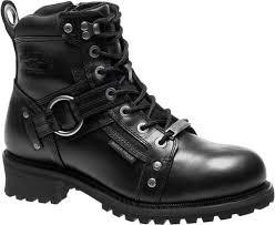 motorcycle footwear mens harley davidson men s pierce waterproof black or brown motorcycle