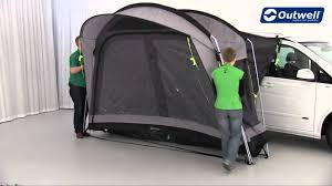 Outwell Country Road Awning Outwell Country Road Tent At Outdoor Action Blackburn Youtube