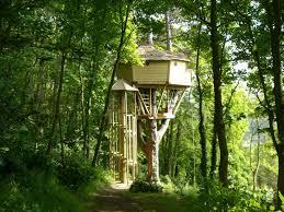 chambre d hotes originales cabane dans les arbres les cabanes de cécile à etretat seine