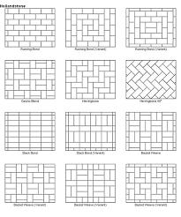 Best 20 Paver Patio Designs Ideas On Pinterest Paving Stone notice two types of herringbone one regular herringbone and one 45