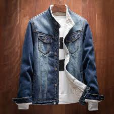 tiger knife 2017 autumn winter printed denim mens jackets and