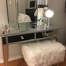 Vanity Mirror Tri Fold Howard Elliott Collection Tripoli Trifold Glass Tabletop Vanity