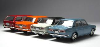 classic datsun model of the day tomica limited vintage datsun bluebird 1400 dx