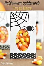 diy halloween treat bags tutorial crafts unleashed