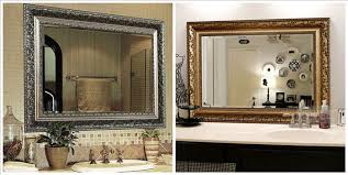 designer mirrors for bathrooms decorative bathroom mirrors for throughout bathrooms