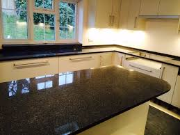 Black Granite Kitchen by Quartz Granite U0026 Marble Worktops U0026 Countertops Inovastone