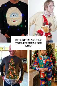 23 christmas ugly sweater ideas for men