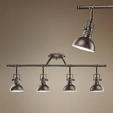 old track lighting fixtures kichler old bronze 31 1 2 wide swivel ceiling fixture ceilings