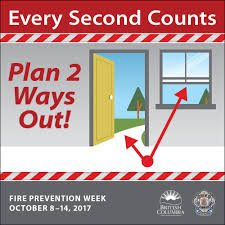 Bc Wildfire Prevention by Fire Prevention Week Province Of British Columbia
