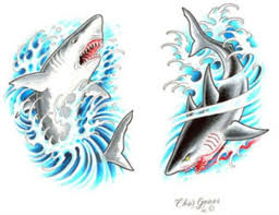 23 best shark traditional tattoo images on pinterest traditional