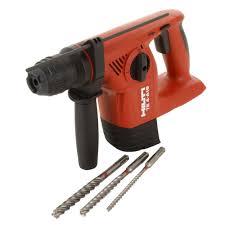 hilti te 4 a18 18 volt cordless hammer drill tool body kit tool
