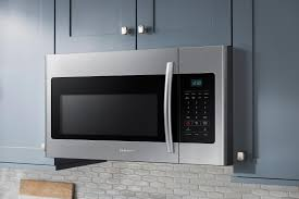 samsung 1 6 cu ft over the range microwave silver me16h702ses
