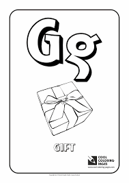 letter g coloring pages preschool