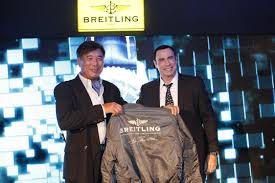 breitling navitimer blue sky media conference and launch skyy
