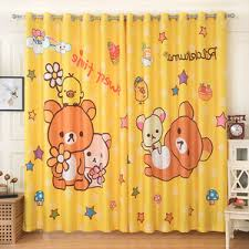 Orange Patterned Curtains Lime Green Elk Bamboo Patterned Natural Curtains