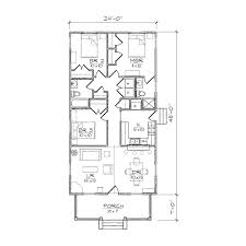 House Plans With Rear View Plans Narrow House Plans With Rear Garage Narrow Bungalow House
