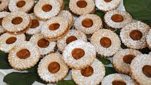 carla hall u0027s pumpkin spice linzer cookies recipe abc news