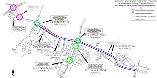 Leicester England Map by Traffic Improvements In North West Leicester Leicester City