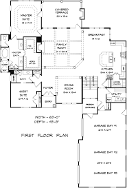 Traditional Craftsman House Plans House Plan 58227 At Familyhomeplans Com