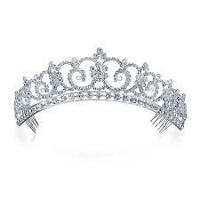 bridal tiara kate middleton inspired royal bridal tiara halo
