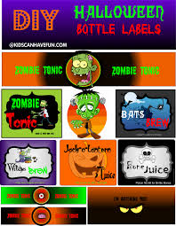 Halloween Stickers Printable by Kidscanhavefun Blog Kids Activities Crafts Games Party