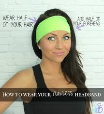 thick headbands how to wear your flawless headband jpg 1465 1600 get fit