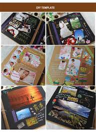 Scrapbooking Albums Aliexpress Com Buy 8inch Large Personalized Photoalbum Family