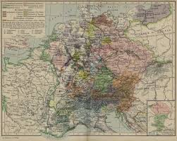Central Europe Map by Of Central Europe In 1378