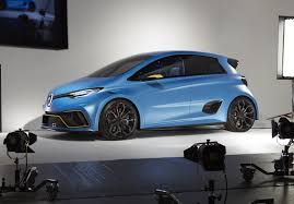 renault zoe 2018 news renault u0027s zoe e sport is a 340kw ev racing hatch