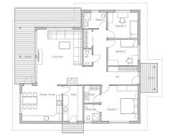Modern Houses Design And Floor Plans Modern House Plan With Classical Lines Logical Room Layouts