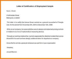 certification of employment sample 16 sample certificate of