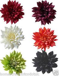 artificial flower large 28cm silk dahlia flower displays quality new